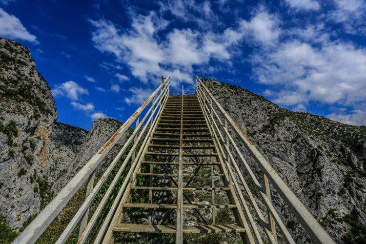 valla kanyonu merdivenler